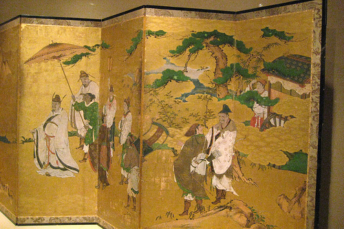 NYC – Metropolitan Museum of Art – Meeting in between Emperor Wen and Fisherman Lü Shang