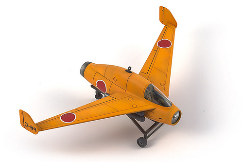 plastic model airplanes