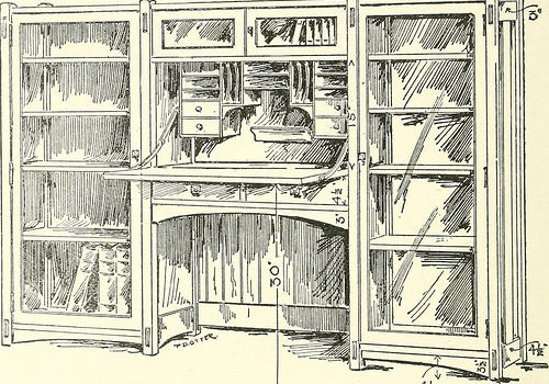 "Image from page 265 of ""Furniture for the craftsman a manual for the student and machanic"" (1914)"