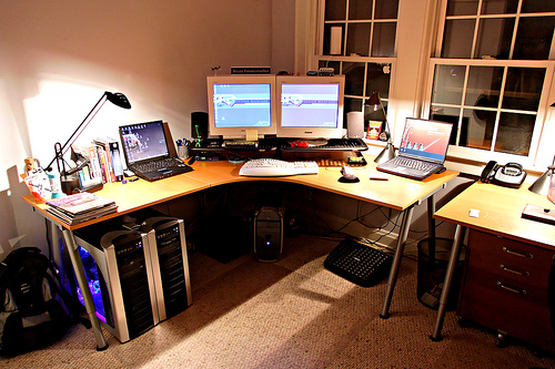Home Office – My Desk – Old 2005