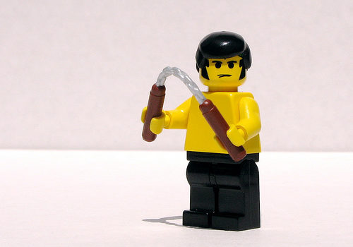 BrickArms Nunchucks prototype
